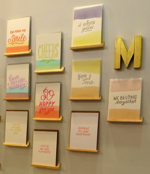 2013 National Stationery Show – To the Letter