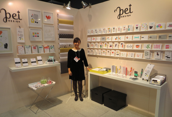 Pei Design booth, NSS 2013