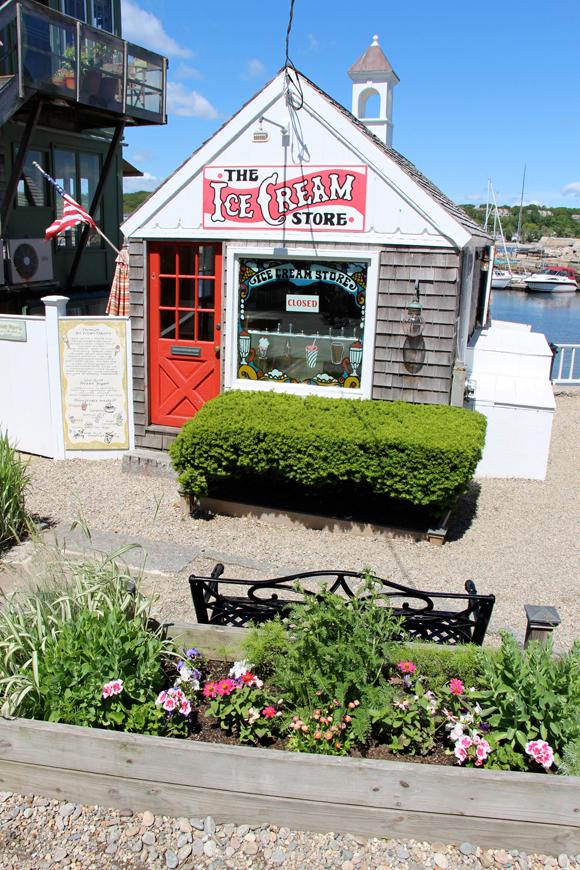 The Ice Cream Store, Rockport