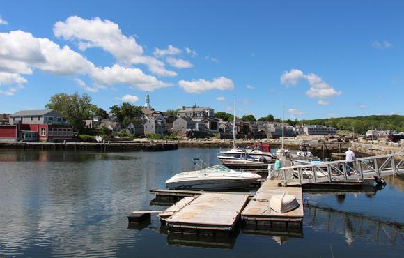 Off of Back Harbor, Rockport