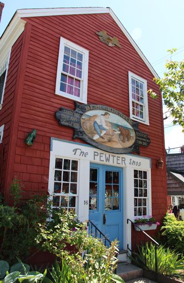 The Pewter Shop, Rockport