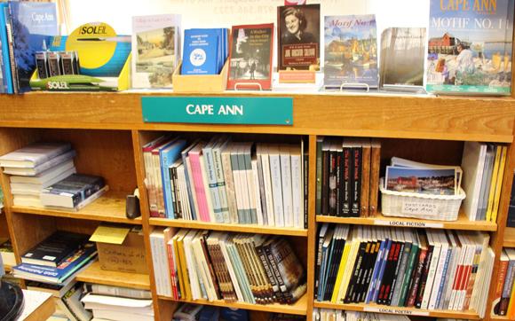 Cape Ann books section