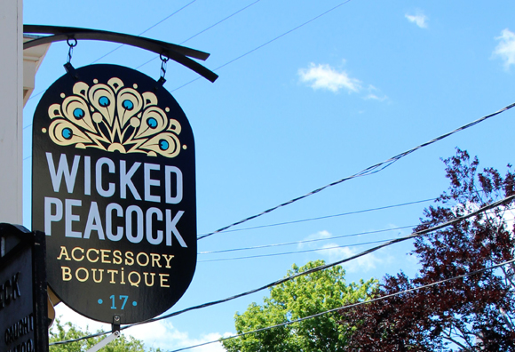 Wicked Peacock, Rockport, Massachusetts