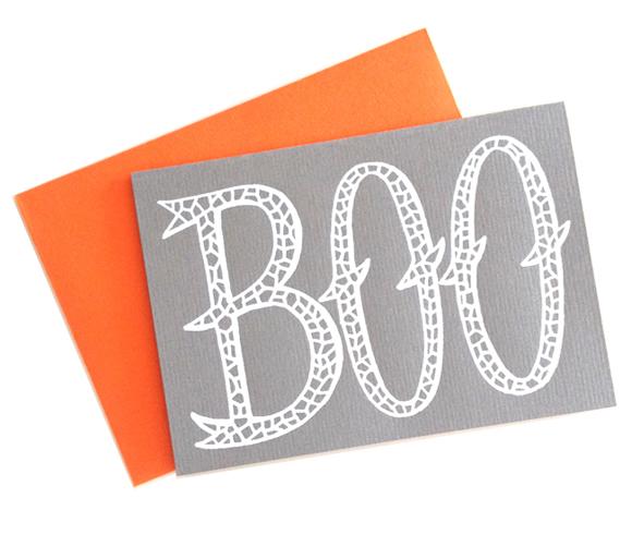Beau Ideal Editions Boo card