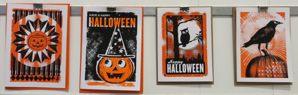 L2 Design Collection Halloween cards