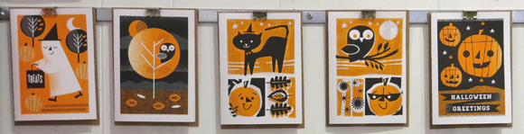L2 Design Collective Halloween cards