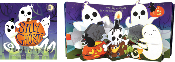 """""""Silly Ghosts,"""" Jumping Jack Press"""