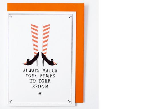 Mr. Boddington's Studio Witch Pumps card