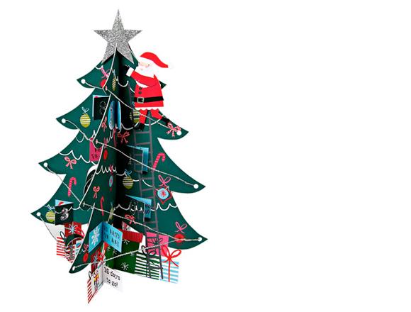 Meri Meri Santa and Tree Advent Calendar