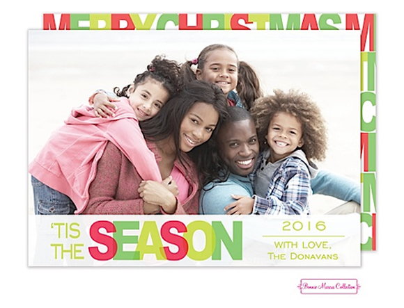"""Noteworthy Paper & Press """"Tis the Holiday Season"""" card by Bonnie Marcus"""