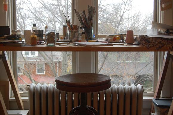Worker Bird studio space
