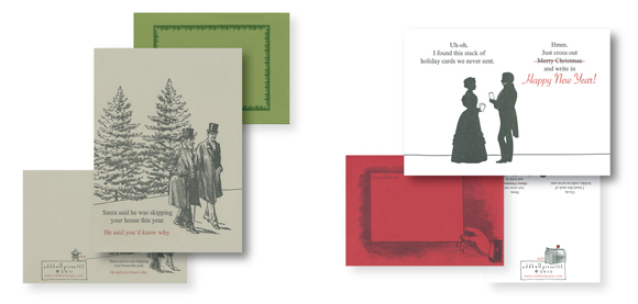 Oddball Press Christmas cards