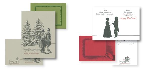 Oddball Press Christmas cards