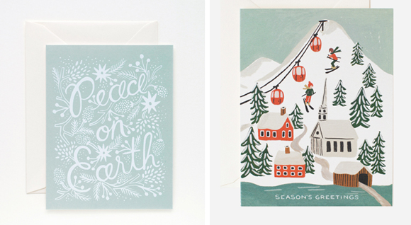 Rifle Paper Co. Holiday cards