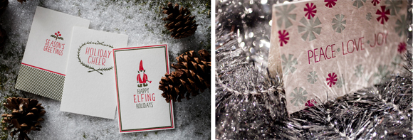 Smock Paper holiday cards