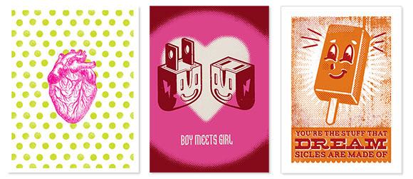 L2 Design Collective love cards