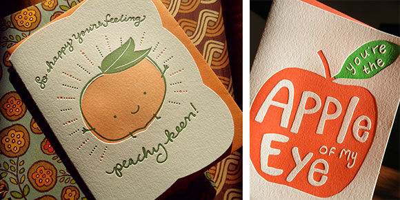 Fruity-fun designs from Night Owl Paper Goods