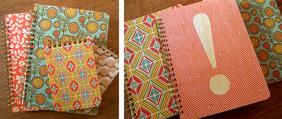 Night Owl Paper Goods 2014 Spring journals and jotters