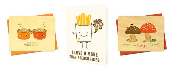 Night Owl Paper Goods love cards