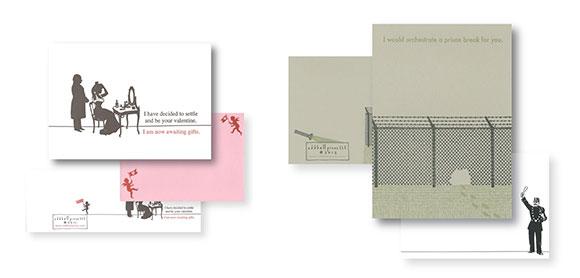 Oddball Press love cards