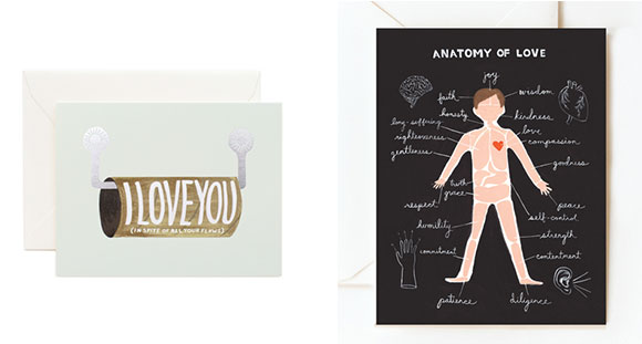 Rifle Paper Co. love cards