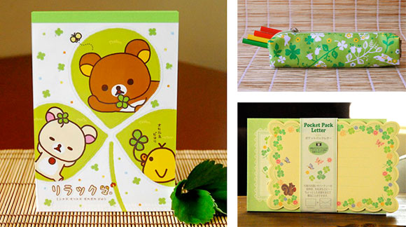 Ginko Papers Clover gift items