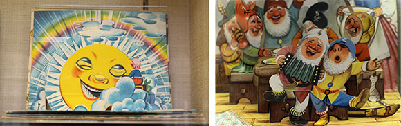 "Two examples of Kubašta's ""Brothers Grimm"" work---""The Seven Ravens"" and ""Snow White and the Seven Dwarfs"""