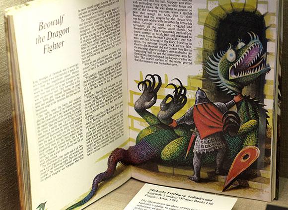 """Kubašta's art in """"Folktales and Legends"""""""