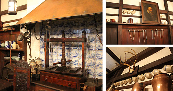 Architectural and historic details in The Grolier Club's Dutch Kitchen