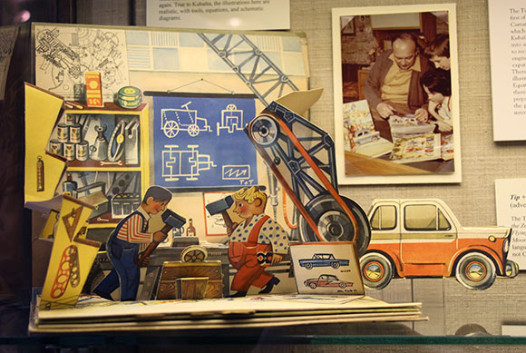 "Kubašta's ""Tip + Top Build a Motorcar"" (Notice photo in upper righthand corner of Kubašta and his daughter, Dagmar, leaning on table, and a friend)"