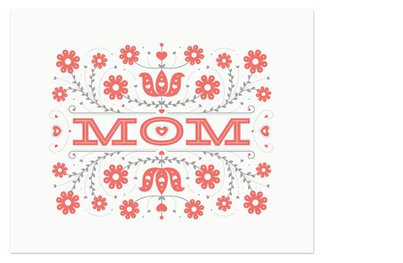 55 Hi's Mom Print