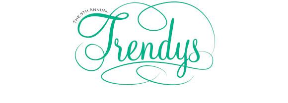 Fifth Annual Trendys Logo