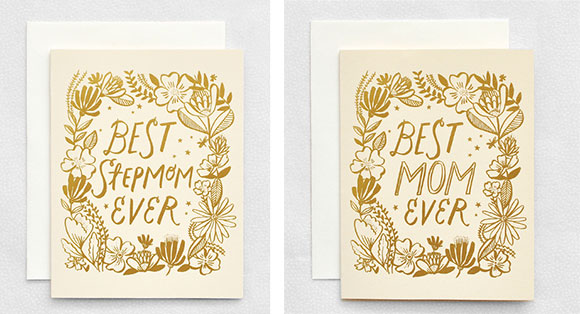 Hello!Lucky Best Mom Ever and Best Stepmom Ever cards