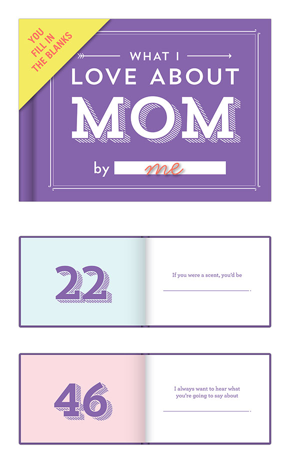 Knock Knock's What I Love About Mom Journal