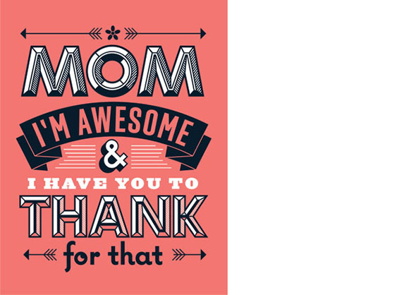 L2Design Collective's Mom I'm Awesome card