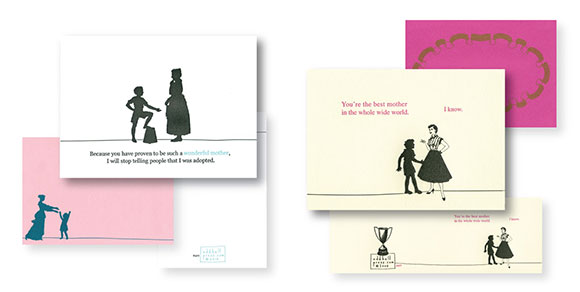 Oddball Press's adopted and best mother cards
