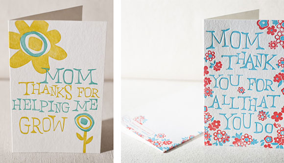 Smock's Mother's Day Grow and Flower Burst cards
