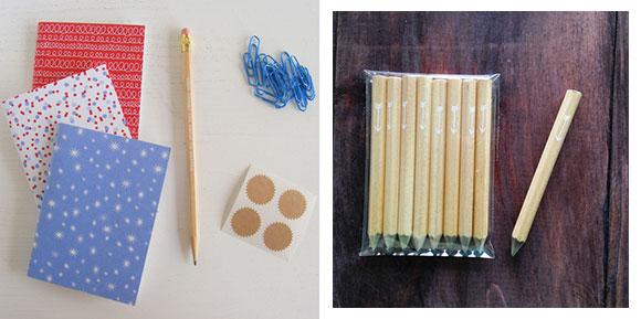 Letter C Design's Pocket Journals and Arrow Mini Pencils