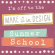 A Change of Pace – Back to School – Part 1 – Retro Geometric