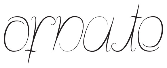 """Ornate"" ambigram by Jessica Southwick"