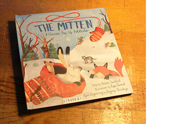 "Cover of ""The Mitten"""