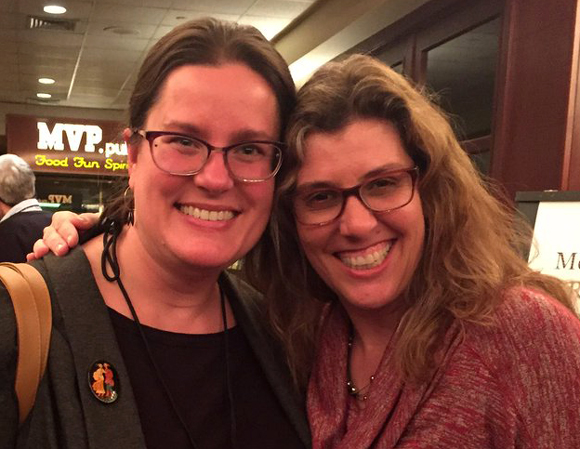Reuniting with Juliana Spink Mills at the 2017 NESCBWI conference