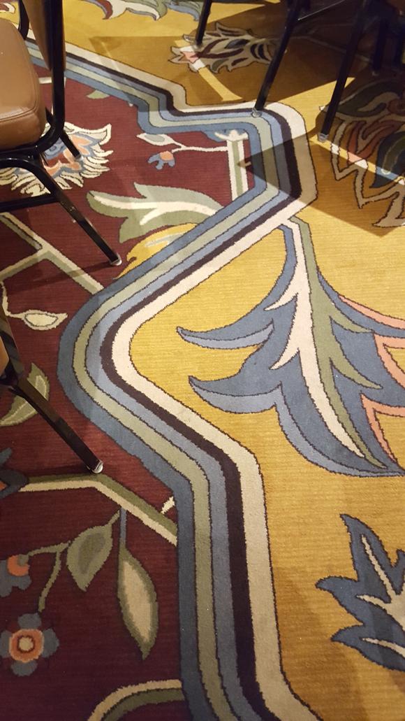 Sheraton ballroom carpet