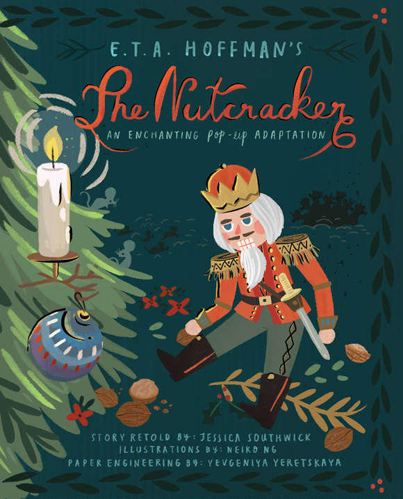 THE NUTCRACKER: AN ENCHANTING POP-UP ADAPTATION. Copyright Jumping Jack Press.
