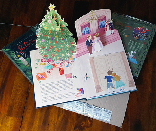 The Nutcracker book delivery