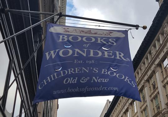 Books of Wonder, 18 W. 18th St.