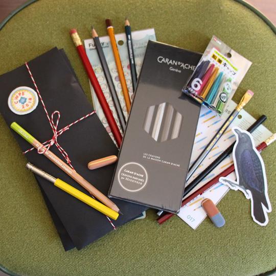 CW Pencil Enterprise goodies