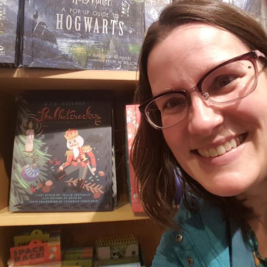 The Nutcracker selfie at Books of Wonder